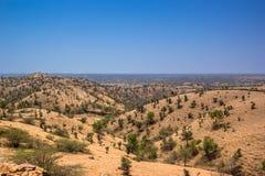No mens land summer Rajasthan 1 Royalty Free Stock Images