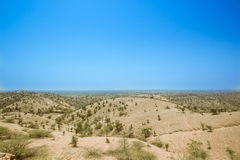 No mens land summer Rajasthan 2 Royalty Free Stock Photography
