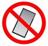 No mobile phones allowed. Symbol Stock Photos