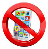 No mobiles Royalty Free Stock Image