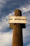 No Mooring 3 royalty free stock image