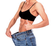 No more fat! Stock Photography