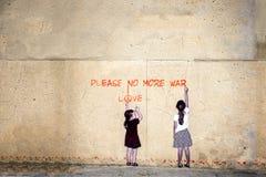 No more Krieg lizenzfreie stockfotos