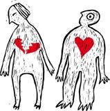 No more in love stock illustration