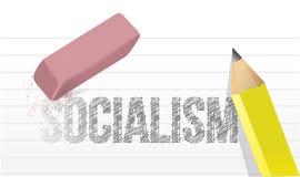 No more socialism concept illustration design Royalty Free Stock Images