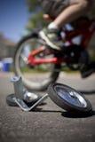 No more training wheels Stock Image