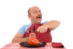 No more vegetables Stock Photos