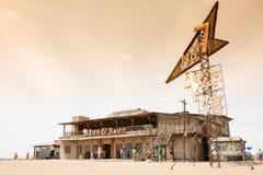No7 motel of tengger desert Stock Images