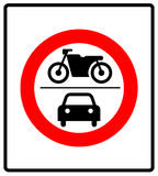 Only Motor Vehicles Allowed Road Sign Icon Stock Vector Image 82483786