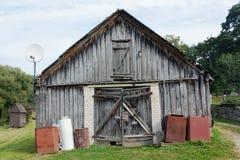 No name rural shed Stock Image