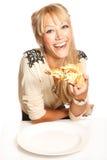 No! no!! Pizza! Zdjęcia Royalty Free
