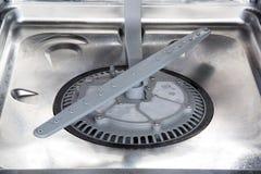No noise dishwasher interior Royalty Free Stock Images