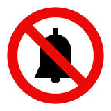 No noise sign Royalty Free Stock Photo