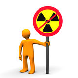 No nuclear energy Royalty Free Stock Photo
