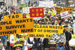 No nuke demostration Stock Photo