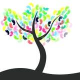 Nożny drzewo Fotografia Royalty Free
