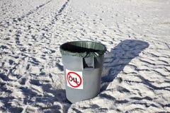 No Oil Waste Stock Photos