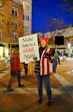 No One Is Above the Law rally protest against Donald Trump royalty free stock photography