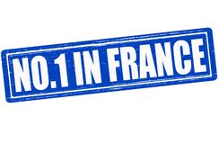 No one in France. Stamp with text no one in France inside,  illustration Royalty Free Stock Image