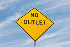 No Outlet Royalty Free Stock Images