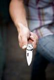 Nożowy ostrze Obrazy Stock