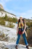 No pé da montanha Fotografia de Stock Royalty Free