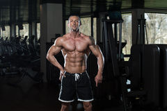 No Pain No Gain. Portrait Of A Physically Fit Man In Modern Fitness Center stock photos