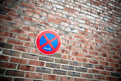No Parking! Royalty Free Stock Photography