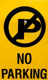 No parking Royalty Free Stock Images