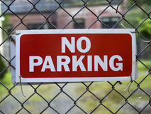 No Parking stock photography