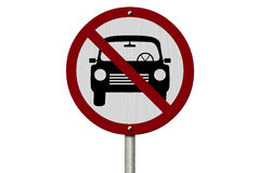 No Parking Allowed Sign Royalty Free Stock Photo