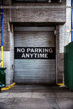 No Parking Anytime Sign Stock Photography