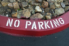 No Parking Curve Royalty Free Stock Image