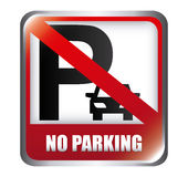 No parking design Stock Photo