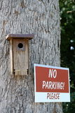 No Parking please Royalty Free Stock Photography