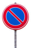 No parking road sign Stock Images