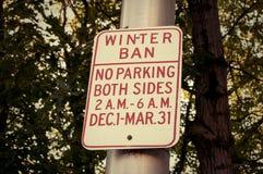 No parking Road Sign Royalty Free Stock Photos