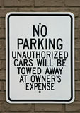 No Parking Sign Stock Photos