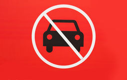 No-parking sign Royalty Free Stock Images