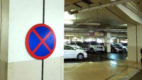 No parking sign Royalty Free Stock Photos