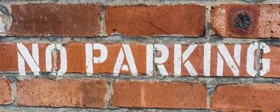 No Parking Royalty Free Stock Image