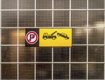 No parking sign Stock Image