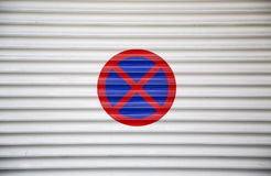 No Parking Stopping sign Stock Image