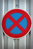 No parking traffic sign Royalty Free Stock Images
