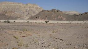 No parque de Timna, perto de Eilat filme