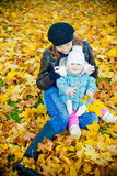 No parque do outono Imagem de Stock