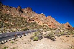 No parque nacional de Teide Imagem de Stock Royalty Free