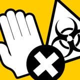 No pass virus Stock Images