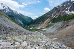 No passeio na montanha de Chalaadi Fotos de Stock