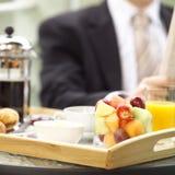 No pequeno almoço Imagens de Stock